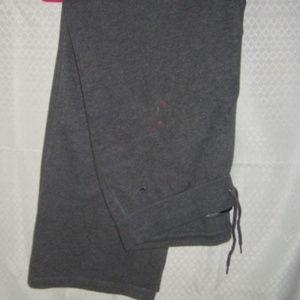 Sweatpants Nike L Grey Paint On them Cheap!
